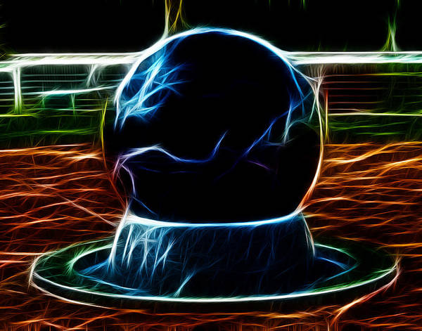 Digital Art - Fractalius Ball by Maggy Marsh