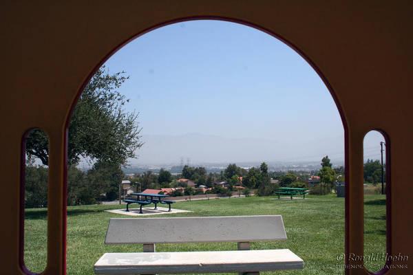 Wall Art - Photograph - Framed Vista by Ronald Hoehn