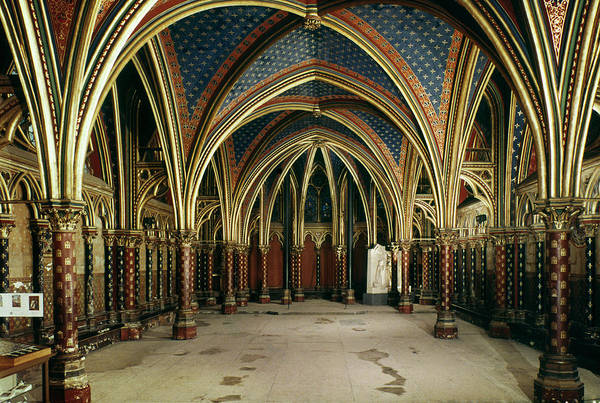 Photograph - France: Ste. Chapelle by Granger