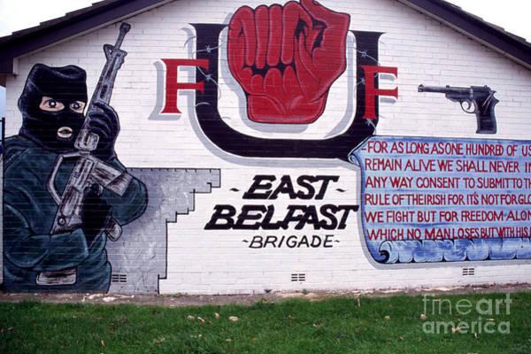 Photograph - Freedom Corner Mural Belfast by Thomas R Fletcher