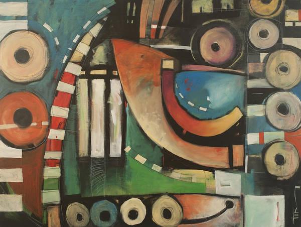 Free Jazz Painting - Freedom Jazz Dance by Tim Nyberg