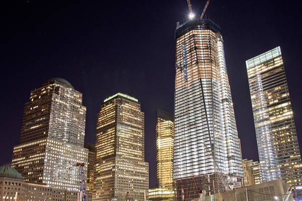 Photograph - Freedom Tower - July 2011 by Theodore Jones