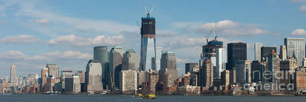 Photograph - Freedom Tower And Manhattan Skyline IIi by Clarence Holmes