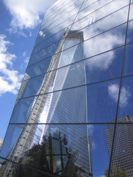 Photograph - Freedom Tower by Pat Moore