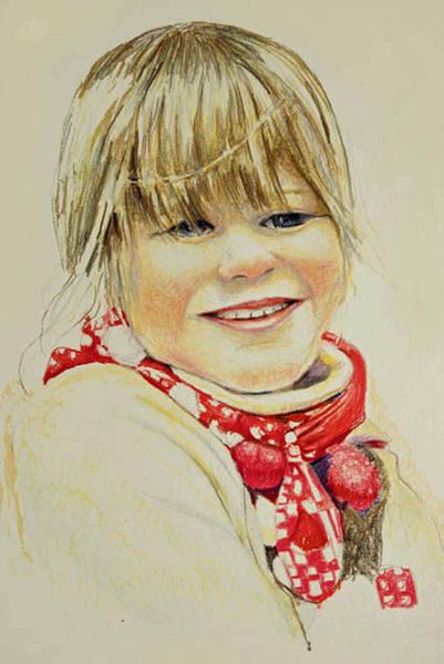 Drawing - Freja 1 by Tim Ernst