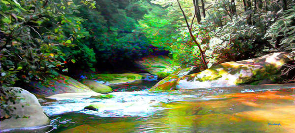 Photograph - French Broad River Filtered by Duane McCullough