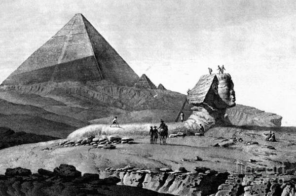 Photograph - French In Egypt, 1799 by Granger