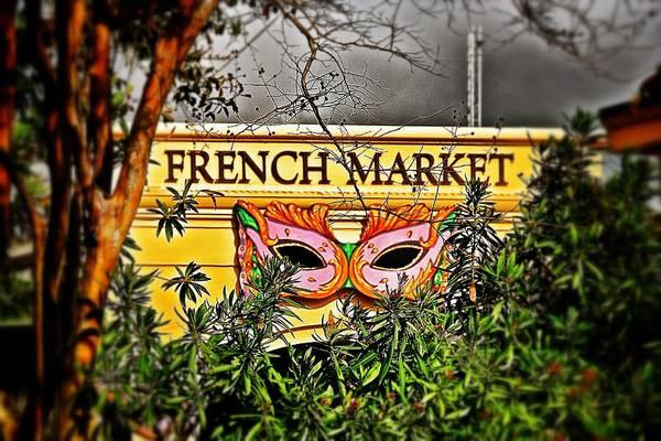 Photograph - French Market  by Jim Albritton