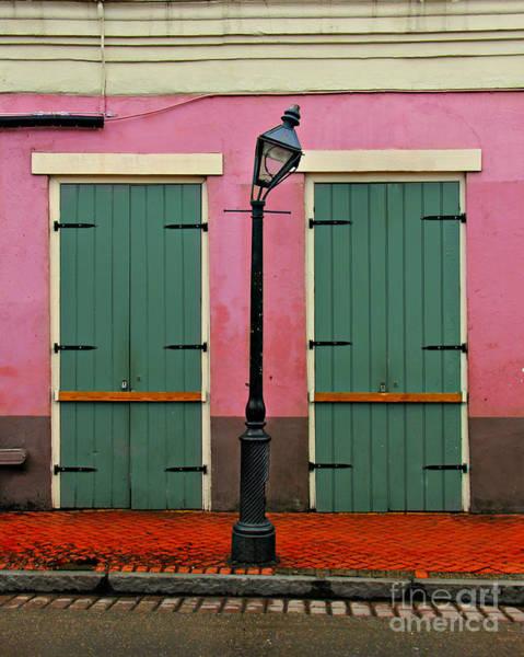 Gra Photograph - French Quarter Doors by Perry Webster