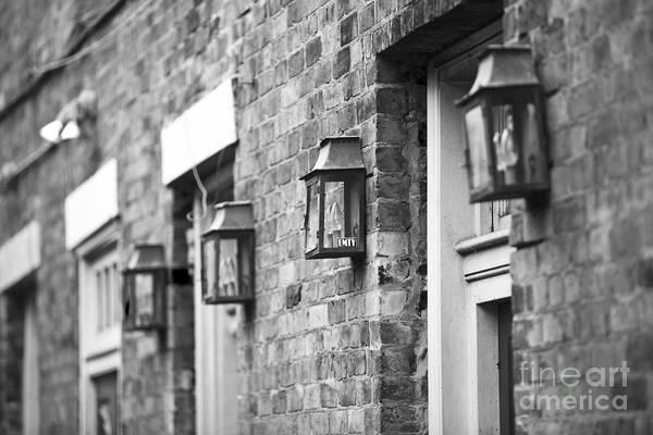 French Quarter Lamps Art Print
