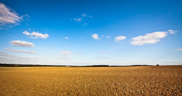 English Countryside Photograph - Freshly Tilled Field by Tom Gowanlock