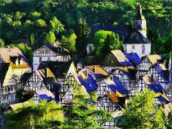 Painting - Freudenberg by Dean Wittle
