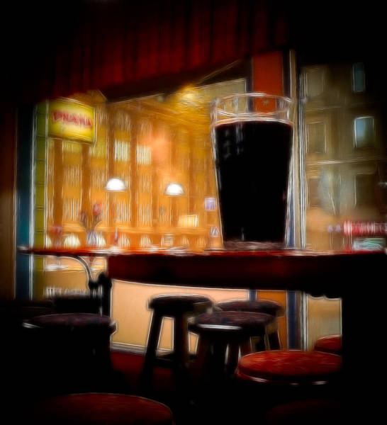 Digital Art - Friday Night Beer by Ari Salmela