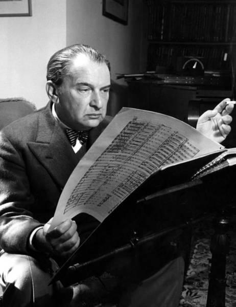 Reiner Photograph - Fritz Reiner 1888-1963, Opera by Everett