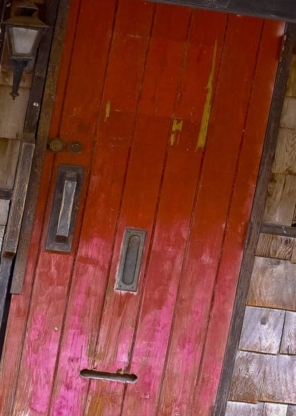 Mail Slot Photograph - From The Alley by DigiArt Diaries by Vicky B Fuller