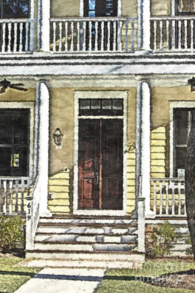 Photograph - Front Door by Donna Bentley
