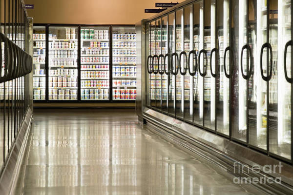 Redmond Photograph - Frozen Food Section by Andersen Ross