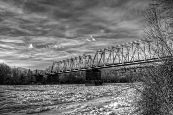 Photograph - Frozen Tracks by Brad Granger