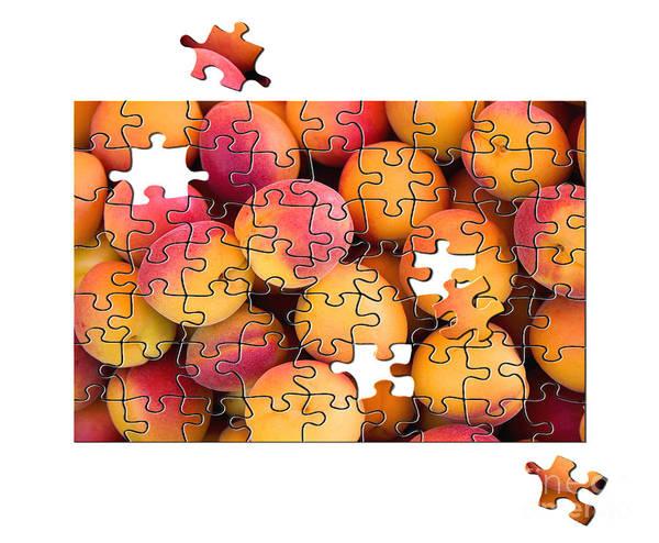 Missing Wall Art - Photograph - Fruit Jigsaw1 by Jane Rix