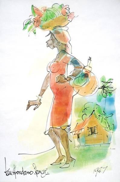Reggae Painting - Fruit Ripe by Carey Chen