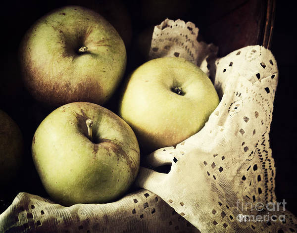 Fuji Apples Art Print