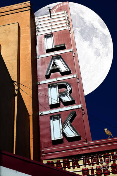 Photograph - Full Moon Over The Lark - Larkspur California - 5d18489 by Wingsdomain Art and Photography