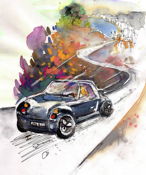 Benidorm Wall Art - Painting - Fun Ride by Miki De Goodaboom