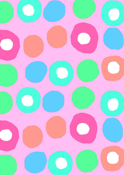 Spots Digital Art - Fun Spots by Louisa Knight