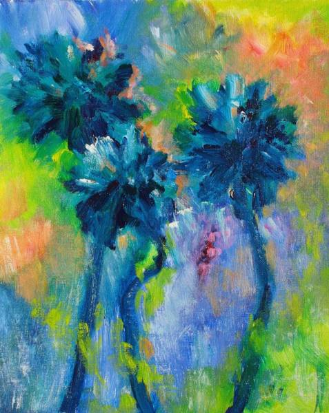 Painting - Funky Palms by Tara Moorman
