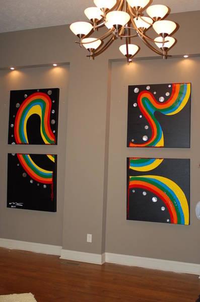 Wall Art - Painting - Furious Emotion by Mac Worthington