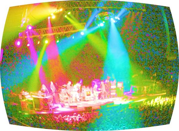 Phil Lesh Photograph - Furthur Channel by Susan Carella
