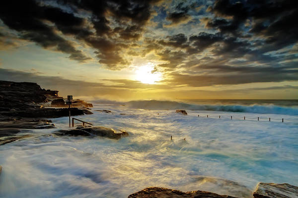Photograph - Fury At Maroubra by Mark Lucey