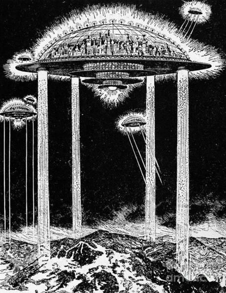 Wall Art - Photograph - Future City, 1922 by Granger
