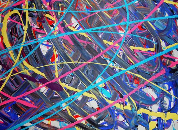 Painting - Fyr Slyder 1c by Cyryn Fyrcyd