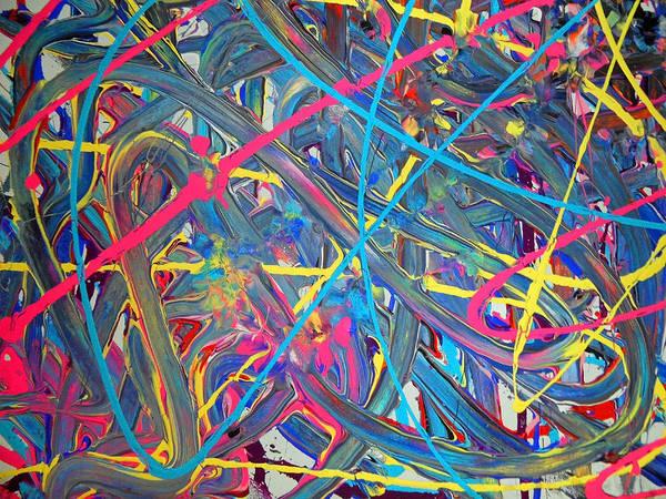 Painting - Fyr Slyder 1d by Cyryn Fyrcyd