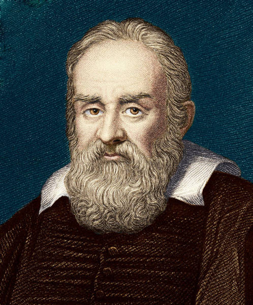 Wall Art - Photograph - Galileo Galilei, Italian Astronomer by Sheila Terry