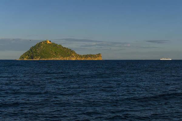 Photograph - Gallinara Island by Enrico Pelos