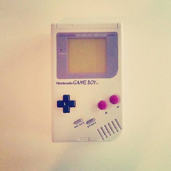 Retro Wall Art - Photograph - Gameboy by Lewis Ross