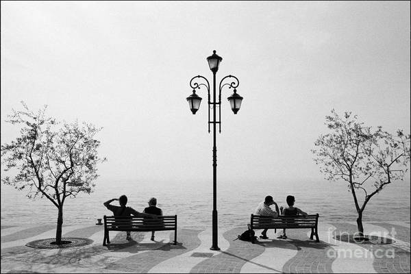 Blanco Y Negro Wall Art - Photograph - Garda Lake 2 by Aldo Cervato
