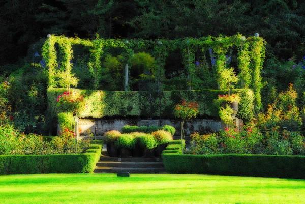 Photograph - Garden Arbor by Lynn Bauer