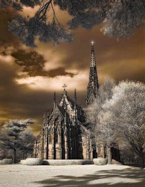 Photograph - Garden City Cathedral by Steve Zimic
