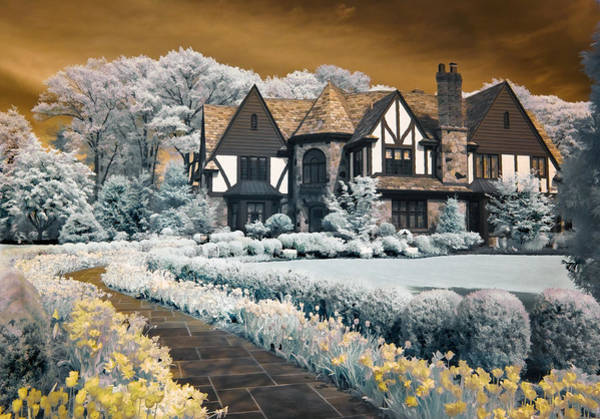 Photograph - Garden City Tudor by Steve Zimic