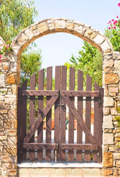 Wall Art - Photograph - Garden Gate by Tom Gowanlock