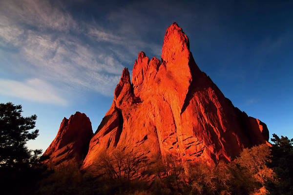 Garden Of The Gods Rocks Art Print