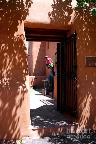 Photograph - Garden Sculptures Museum Of Art In Santa Fe Nm by Susanne Van Hulst