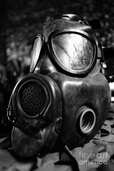 Gasmask Photograph - Gas Mask by Gaspar Avila