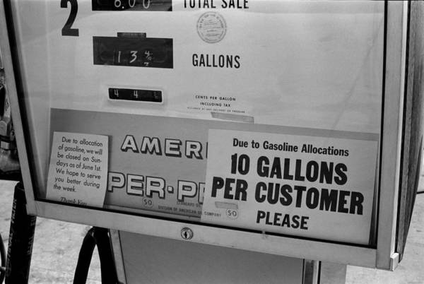 Energy Crisis Photograph - Gas Pump Restricting Gas Purchases by Everett