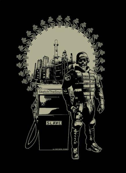 Mixed Media - Gas Riot  by Tony Koehl