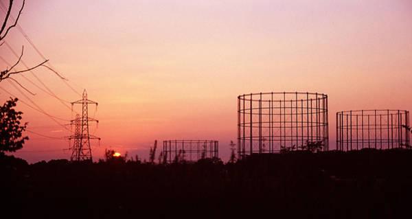 Energy Crisis Photograph - Gas Storage Tanks by Victor De Schwanberg