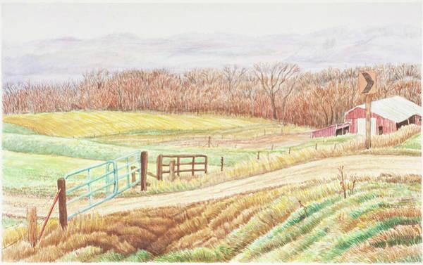 Gateway To Springwater Art Print by David Bratzel
